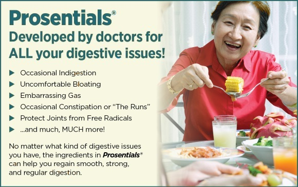 [Image: Prosentials: Developed by doctors for ALL your digestive issues!